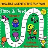 Silent E Race & Read Games