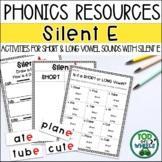 Silent E: Short and Long Vowel Sounds