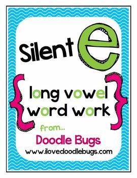 Silent E { Sneaky E } Unit for A I O U vowels