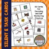 Silent E Task Cards   Clip Cards