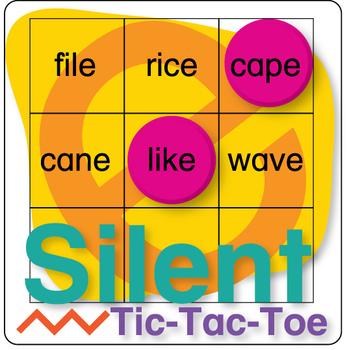 Silent E Tic-Tac-Toe