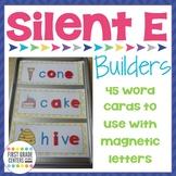 Silent E: {VCE} Word Building Mats