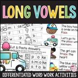 Silent E Word Work Activities