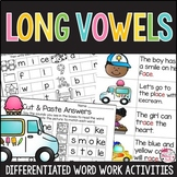 Silent E Worksheets and Activities