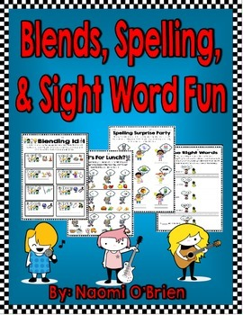 Silent E Words, Short and Long Vowels, Sight Words, Consonant Blends
