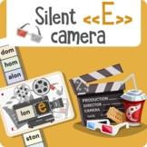 """Silent """"E"""" camera"""
