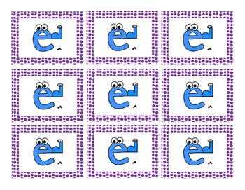 Silent-E vs. Vowel-R Word Cards
