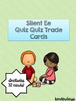 Silent Ee Quiz Quiz Trade Cards