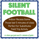Silent Football Game Directions