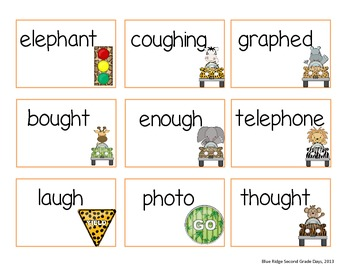 Silent -Gh, -Gh with /F/ Sound, And -Ph With /F/ Sound Word Work Activities