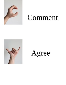 Silent Hand Signals