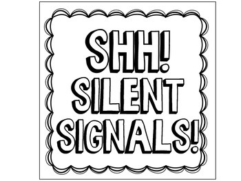Silent Hand Signals Posters