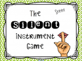 Silent Instrument Game PDF Edition