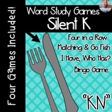 Silent K: KN Digraph [[Word Family GAMES!]]