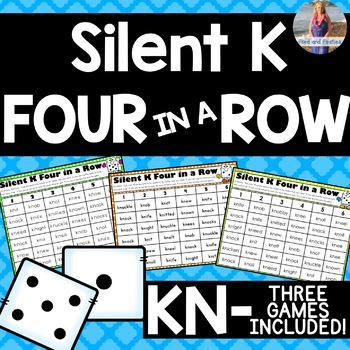 "Silent K ""Kn"" Four in a Row Game!"