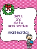 Silent K and W Word Searches!