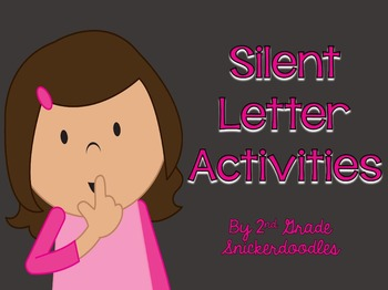 Silent Letter Activities {gh, gn, kn, mb, and wr}
