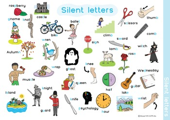 Silent Letter Board Game