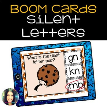 Silent Letter Boom Learning Cards