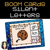 Silent Letter Boom Cards™ Distance Learning