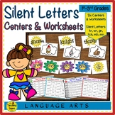 Silent Letter Centers: kn, wr, gn, -gn,  -mn, -mb, & -tch