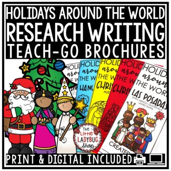 Christmas Around The World Research & Holiday Around The World Activities