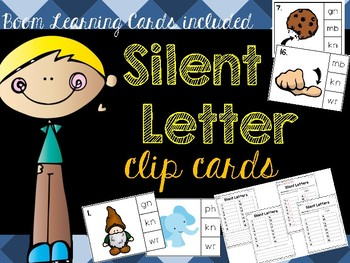 Digraphs: Silent Letter Clip Cards