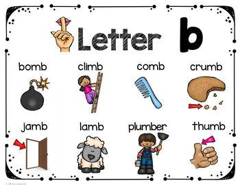 mb Silent Letter Consonant