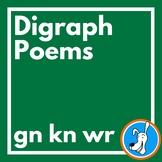 Digraphs:  Silent Letter Consonant Digraph Poems