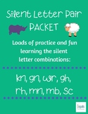 Orton-Gillingham: Silent Letter Pairs Packet (gh, rh, gn, wr, kn, mb, mn, sc)