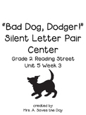 Silent Letter Pairs Literacy Center (Grade 2 Reading Stree