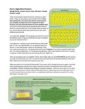 Silent Letter Pairs: Orton-Gillingham Lesson