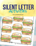 Silent Letter Activities & Worksheets, kn, wr, mb, gn, 2nd