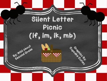 Silent Letter Picnic (lf, lk, lm, mb) Sort, Worksheet, Game