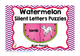 Silent Letter Puzzles Watermelons