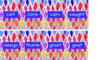 Silent Letter Slap Ghost -Orton Gillingham