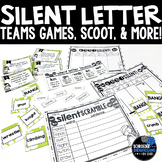 Silent Letter Teams anchor charts, bang, and printables