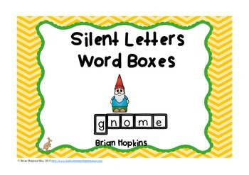 Silent Letter Word Boxes