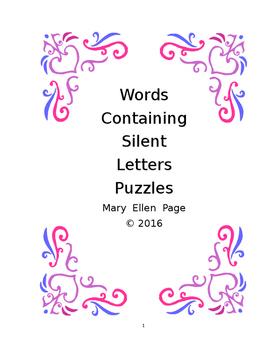 Silent Letter Word Games