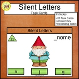 Silent Letters Task Cards