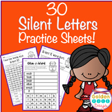 Silent Letters 30 No Prep Printables Word Sorts and Making Words!