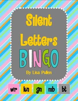 Silent Letters BINGO {wr, kn, gn, mb, bt}