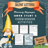 Silent Letters Fluency Passages Word Study & Comprehension