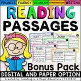 Silent Letters, Hard/Soft c & g, Reading Passages LEVEL 2