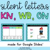 Silent Letters: KN, WR, GN for Google Slides™