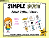 Silent Letters MB, KN, WR, and GN Sorting Cards