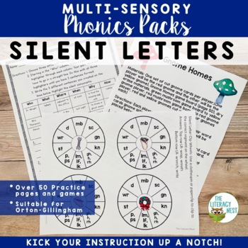 Silent Letters Multisensory Activities Orton-Gillingham Approach