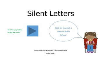 Silent Letters Phonics Game