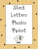 Silent Letters Phonics Packet
