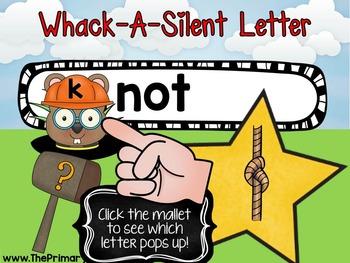 Silent Letters Whack-A-Mole